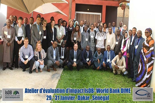 Atelier d'Evaluation d'Impact IsDB-World Bank-DIME